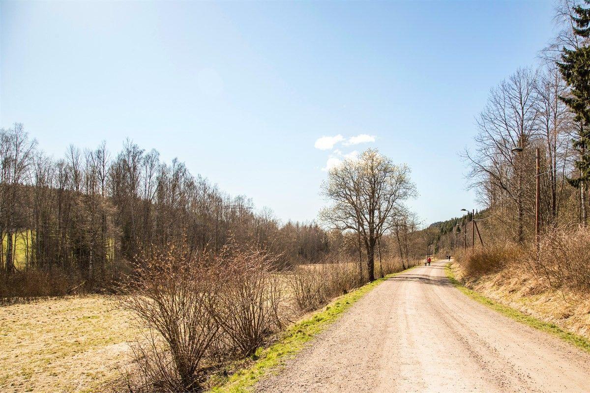 Henrik Sørensens vei 7 Nærområdet med kort vei til marka