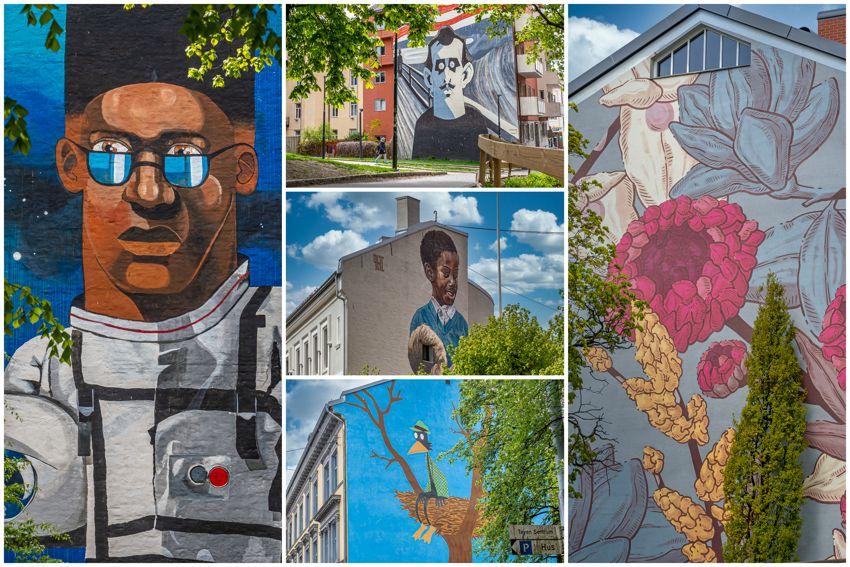 Sverres gate 5 Tøyenløftets tilskudd til bygårdene har fargelagt nabolaget!