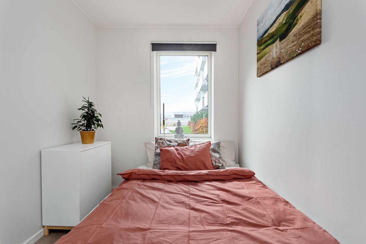 Hans Nordahls gate 36 Soverommet har plass til dobbeltseng og garderobe om ønskelig