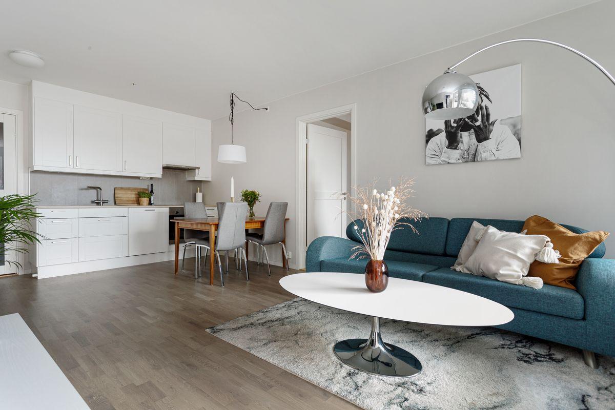 Hans Nordahls gate 36 Leiligheten har lave felleskostnader hvor både varmtvann, fyring, kabel-TV og internett er inkludert