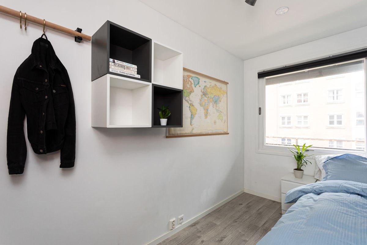 Frederik Glads gate 19 Det andre soverommet har ulike bruksmuligheter
