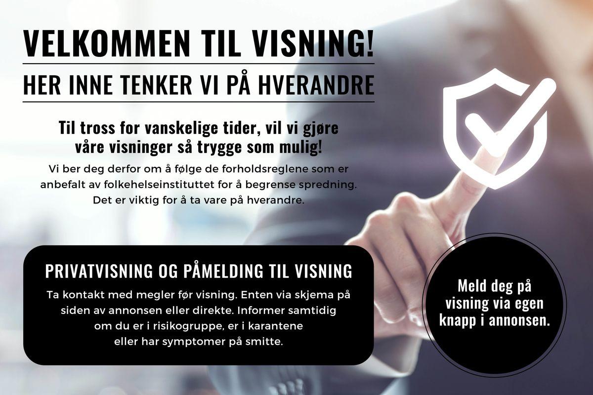 Erika Nissens gate 7 Dersom du planlegger å delta på annonsert visning bes du som kunde om å gi beskjed i forkant til eiendomsmegler, trykk på påmeldingsknappen i annonsen. Vi tilbyr også privatvisninger for de som ønsker det.