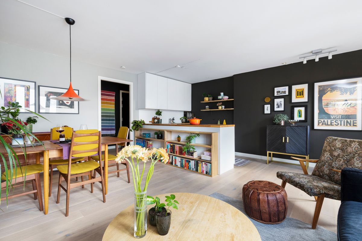 Heimdalsgata 37 Kjerstin Falkum (922 04 707) har gleden av å presentere denne flotte toppleiligheten i Heimdalsgata 37!