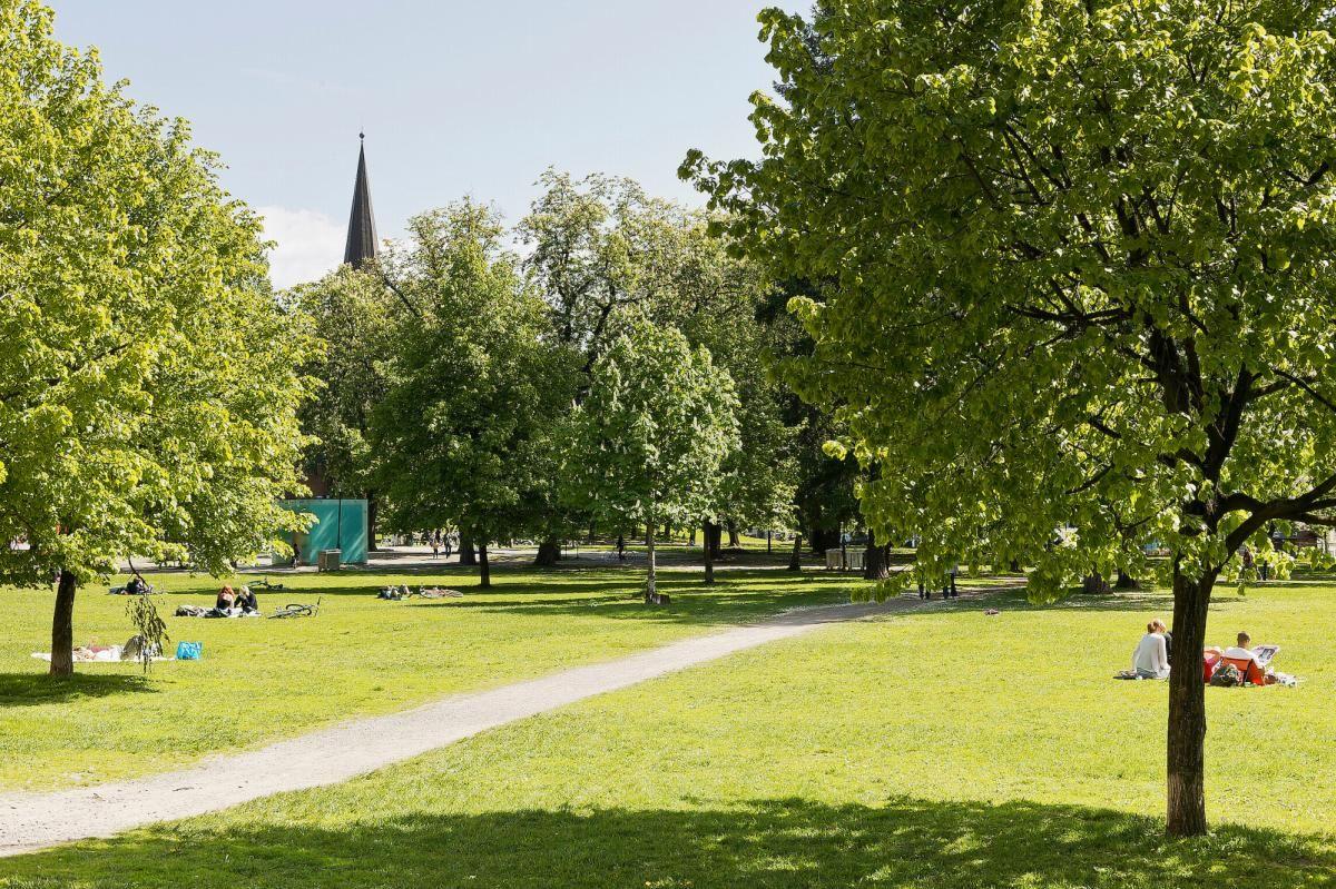 Seilduksgata 2 B - Grünerløkka har flere flotte grøntområder som f.eks Sofienbergparken -