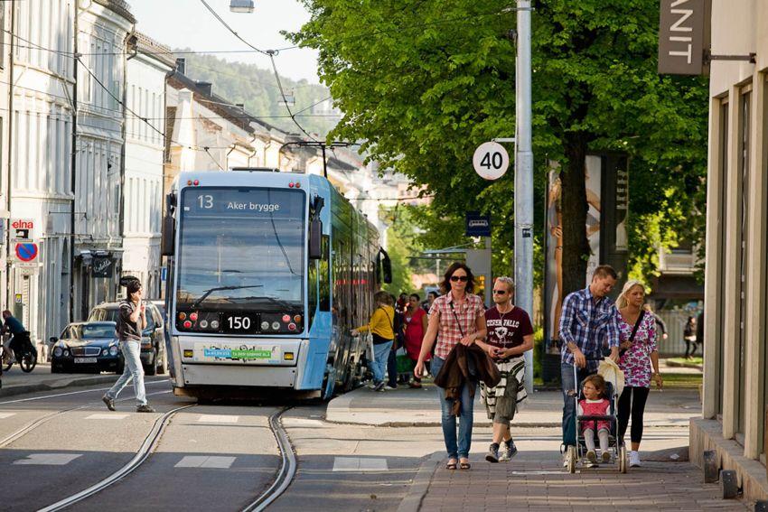 Seilduksgata 2 B - Gode kollektivmuligheter med trikk 11,12 og 13 fra Thorvald Meyers gate og buss fra Sannergata og Toftes gate -