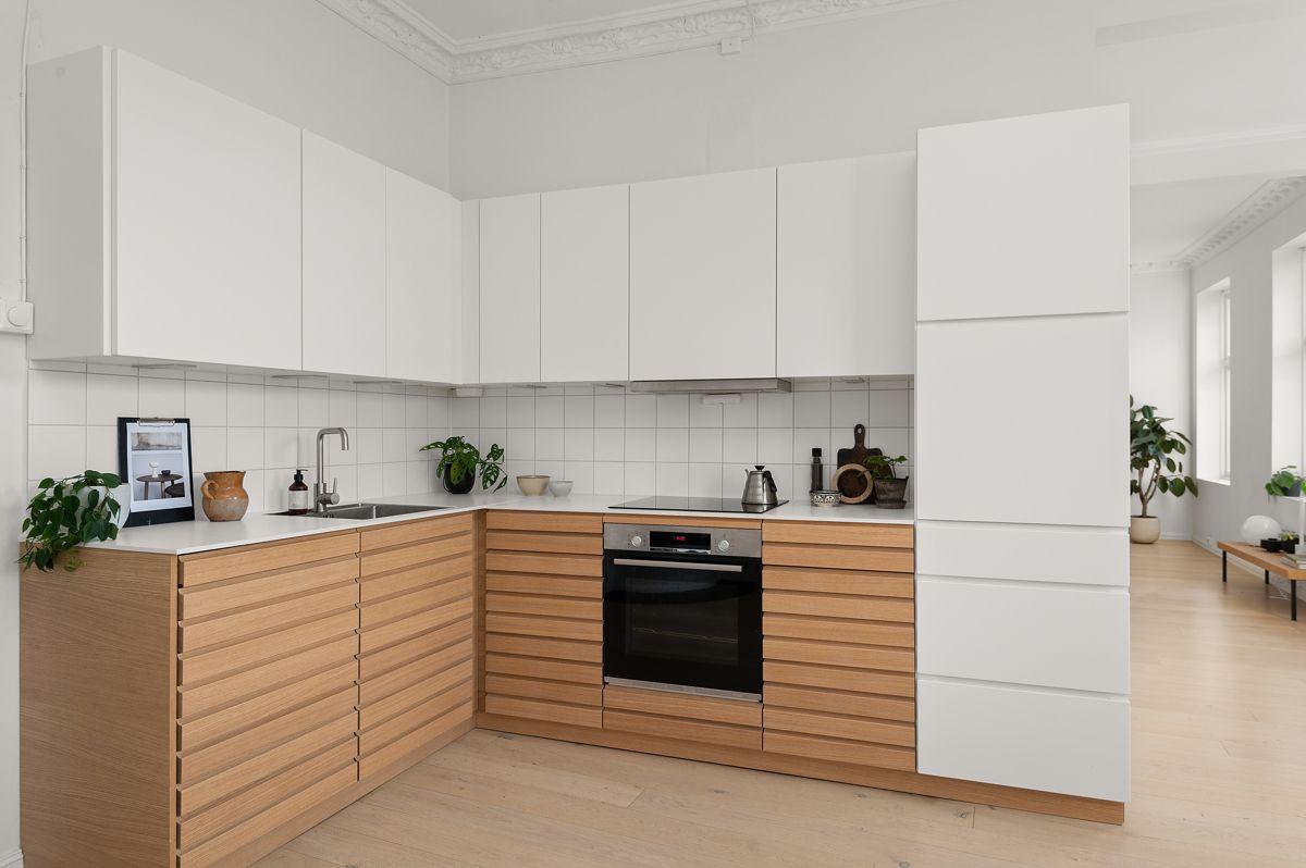 Seilduksgata 2 B - Integrert stekeovn, induksjonstopp, oppvaskmaskin og kjøl -/ fryseskap (alle hvitevarer fra 2019) -