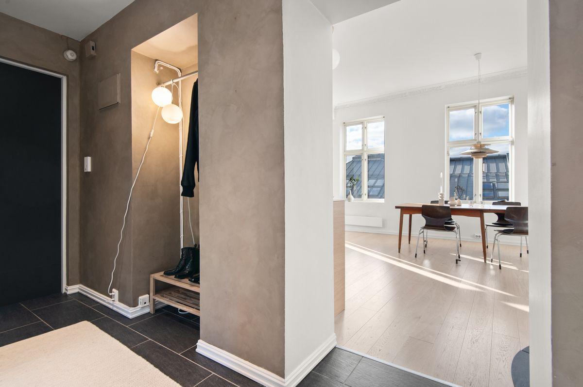 Seilduksgata 2 B - Mellomgang fra kjøkken/stue til soverommene -