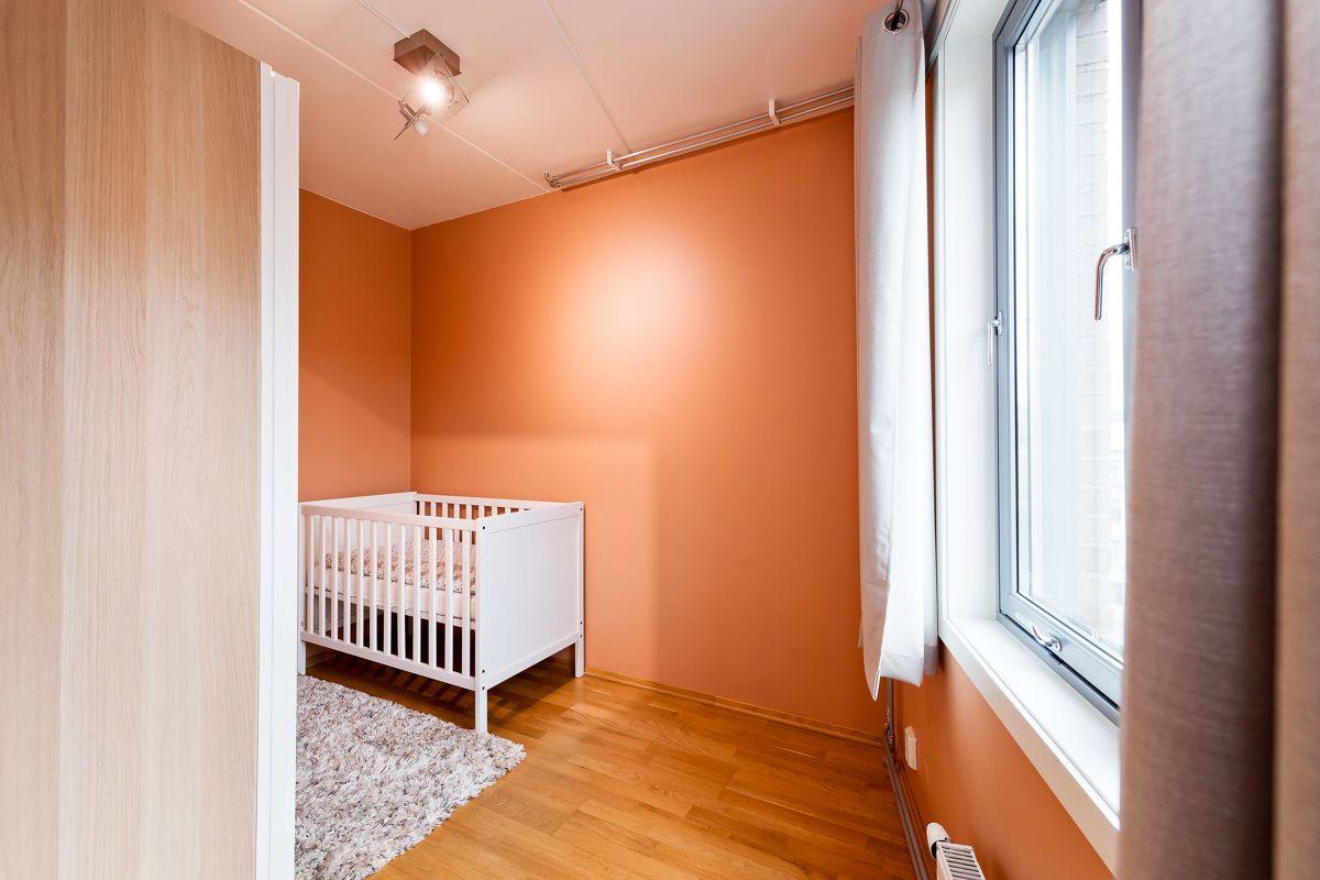 Herslebs gate 17A Soverom 2 fungerer perfekt som et gjesterom eller barnerom.