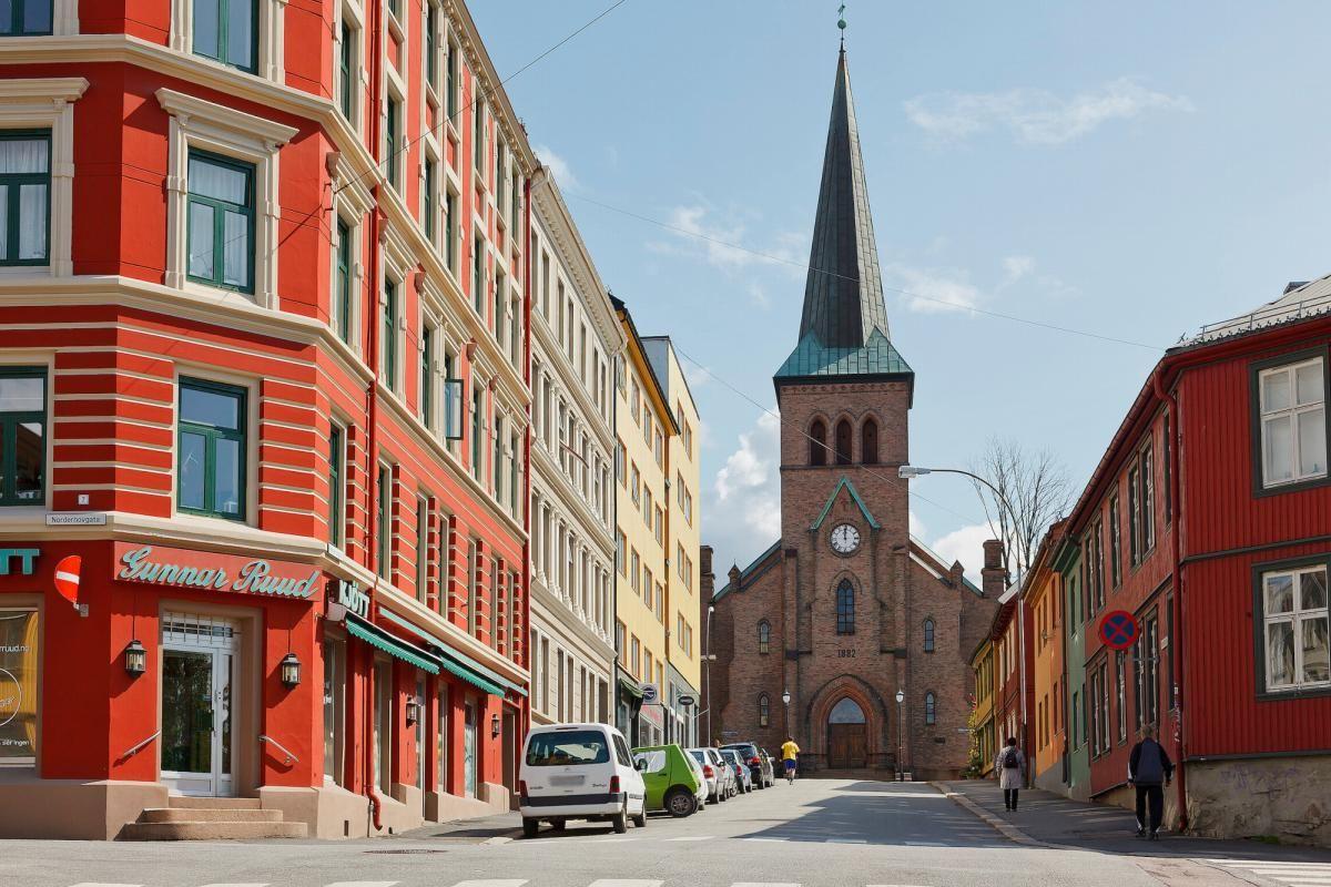 Telemarksvingen 4 - Området Kampen byr på flotte bygårder og eldre trehusbebyggelse -