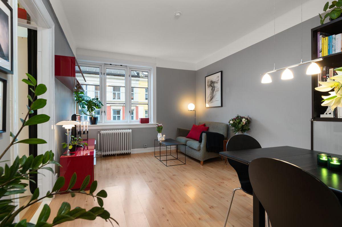 Københavngata 14B Steinar Hånes (957 71 033) ved Schala & Partners har gleden av å presentere denne leiligheten i Københavngata 14 B!