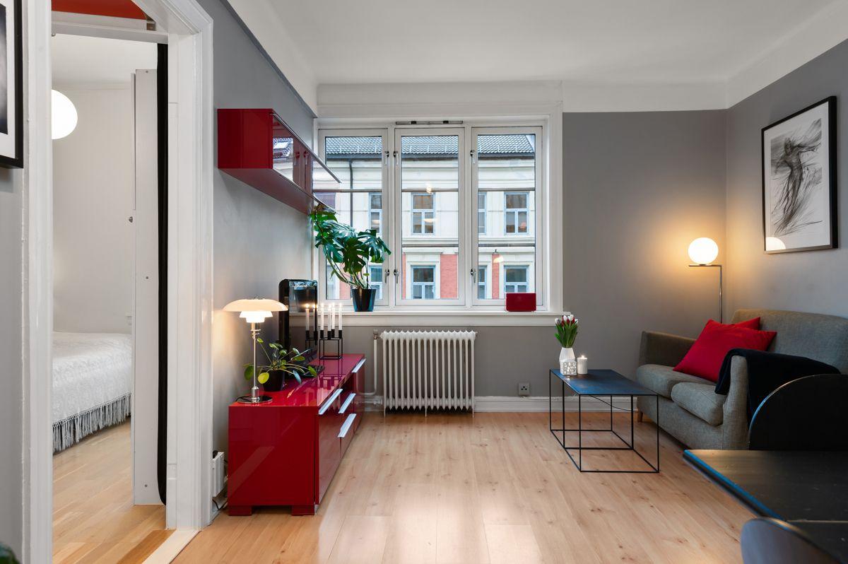 Københavngata 14B Gode lysforhold fra store vindusflater