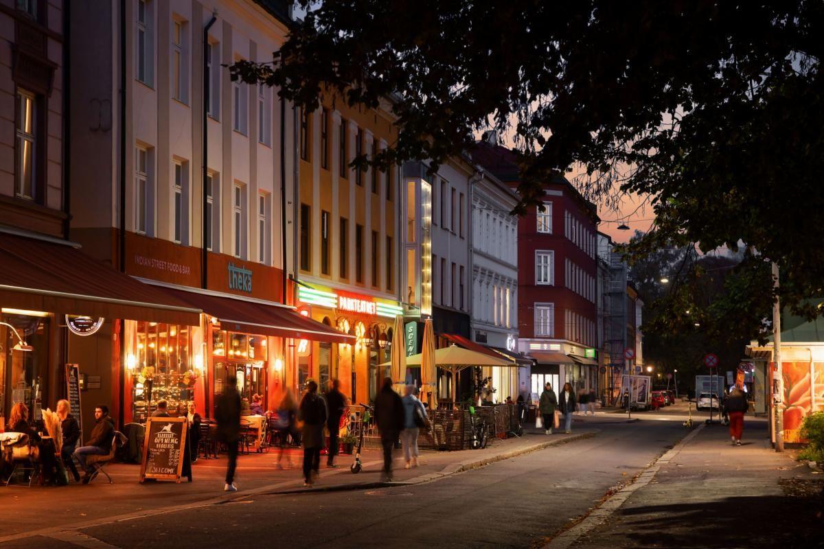 Københavngata 14B Kort gangavstand til populære serveringssteder på Grünerløkka
