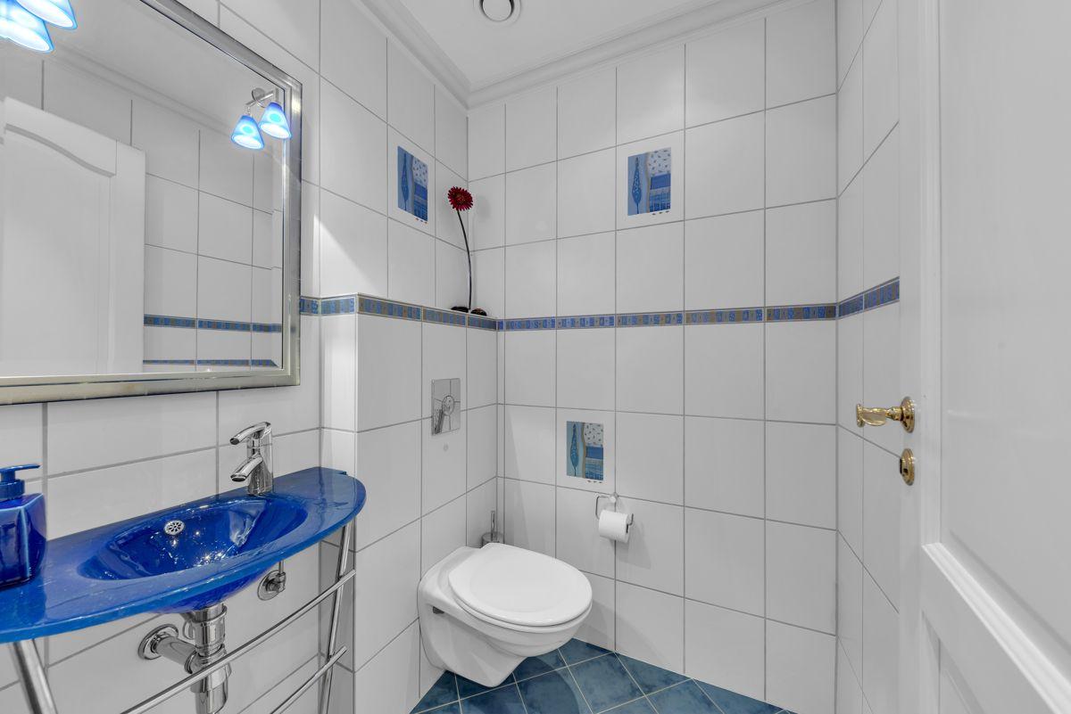 Folkvangveien 10A Separat wc-rom i 1.etasje