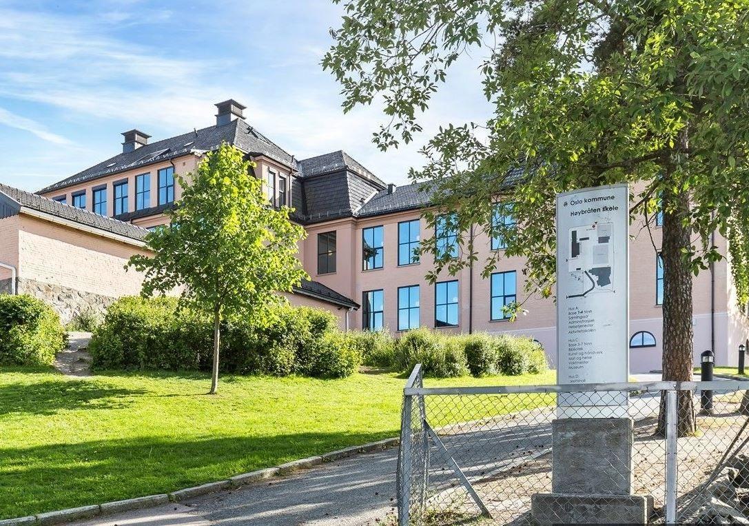 Folkvangveien 10A Høybråten skole