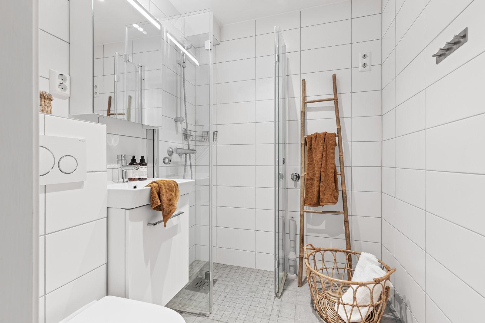 Betzy Kjelsbergs vei 14 A Lekkert bad, renovert i 2016