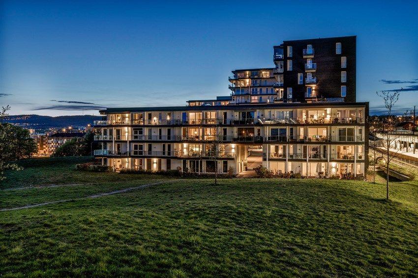 Hans Nielsen Hauges gate 37 F Boligprosjektet kan skilte med en god kombinasjon av utsikt, gode solforhold, nærhet til park, et godt byplangrep og en arkitektur av høy klasse!