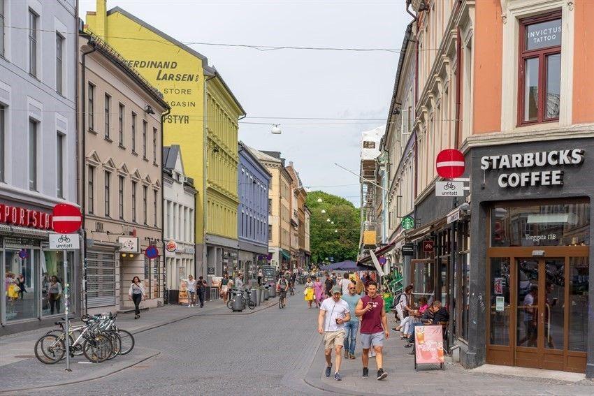 Bernt Ankers gate 31 Stort utvalg av restauranter, uteserveringer, turområder, parker med et rikt kulturliv i Torggata