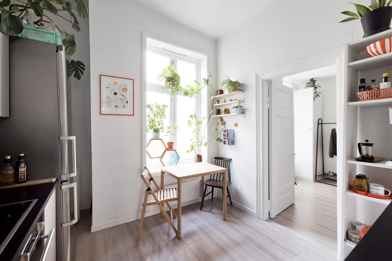 Bernt Ankers gate 31 Kjøkkenet ligger separat og har fin plass til et lite spisebord