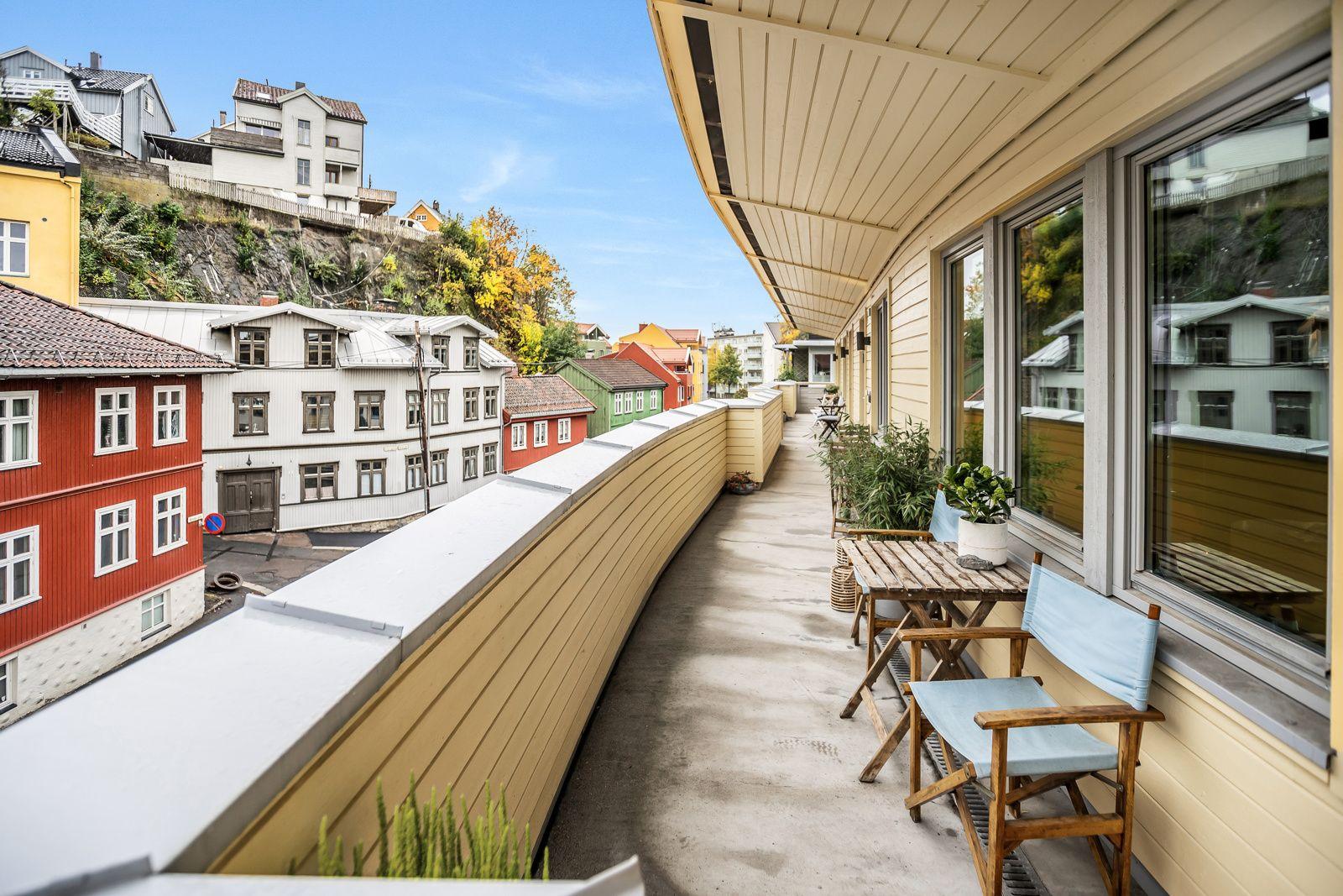 Konows gate 26N Et flott sted å bo for deg som ønsker en rolig tilværelse i nærheten av grønne friarealer. Her er det sol hele dagen!
