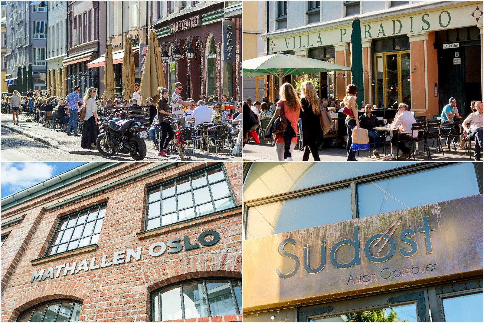 Christian Krohgs gate 30 Grünerløkka en bydel hvor de fleste finner en uteplass eller café som passer.