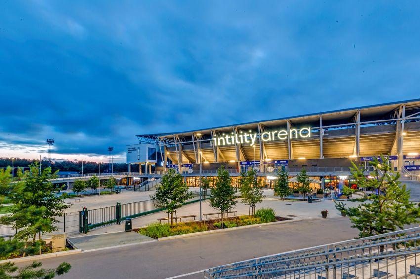 Spektrumveien 1 Valle Hovin og nye Intlity Arena er kjent for sine allsidige idrettsanlegg og store konsertarrangementer, og ligger i gangavstand fra bolig