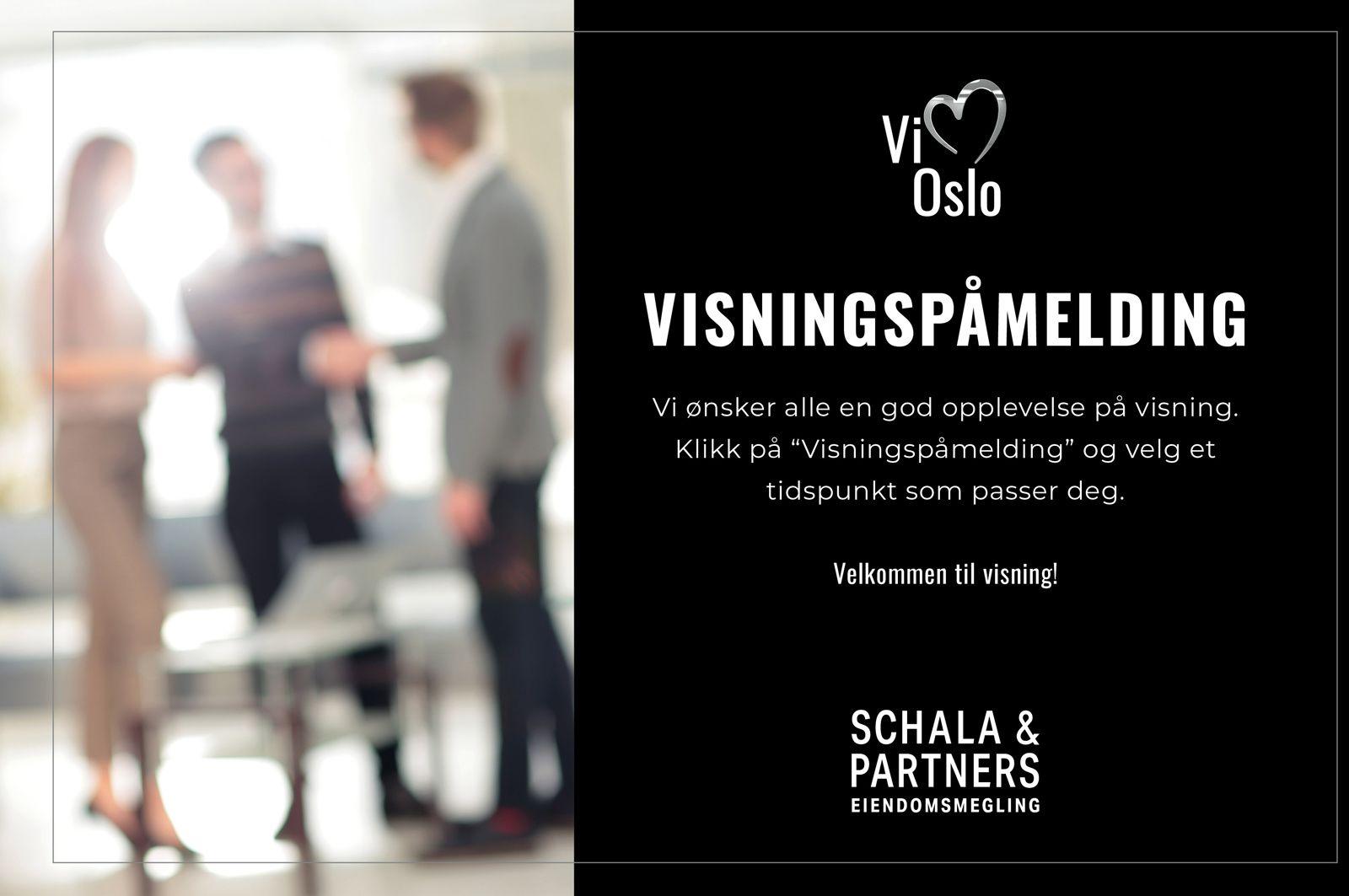 Ålesundgata 3 B Husk og meld deg på visning i god tid før visningene! Klikk på knappen Visningspåmelding for å booke tid.