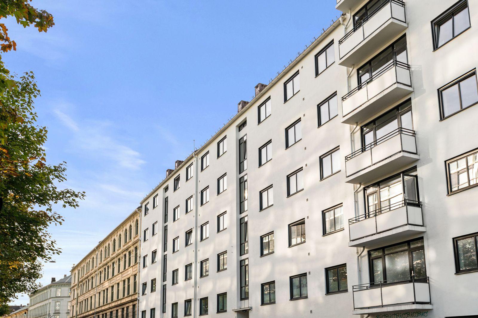 Sannergata 5C Fasade Sannergata 5.