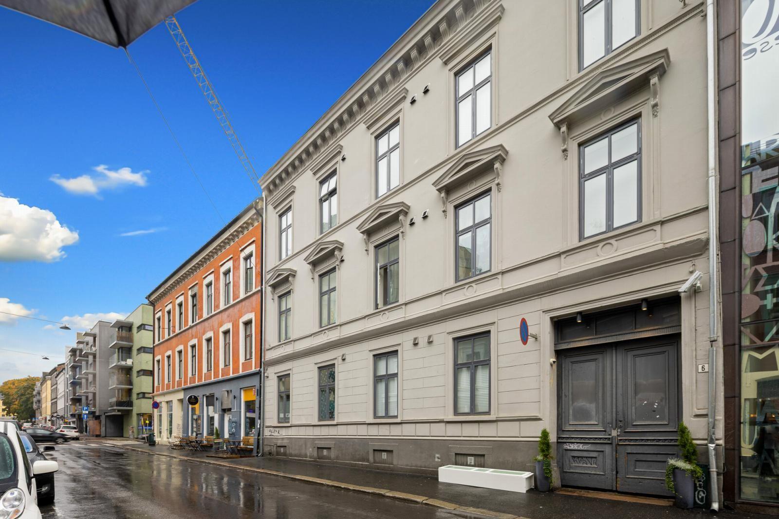 Osterhaus' gate 6A Fasade