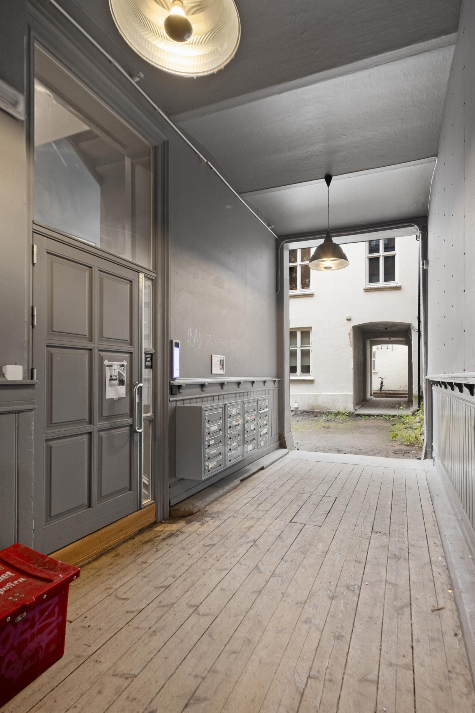 Osterhaus' gate 6A Inngangsparti