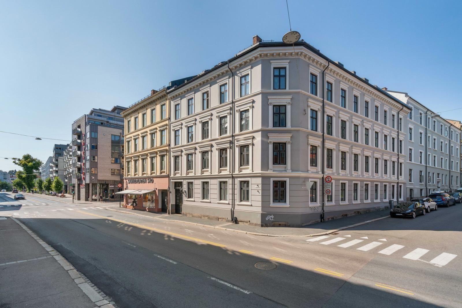 Sannergata 10 Fasade