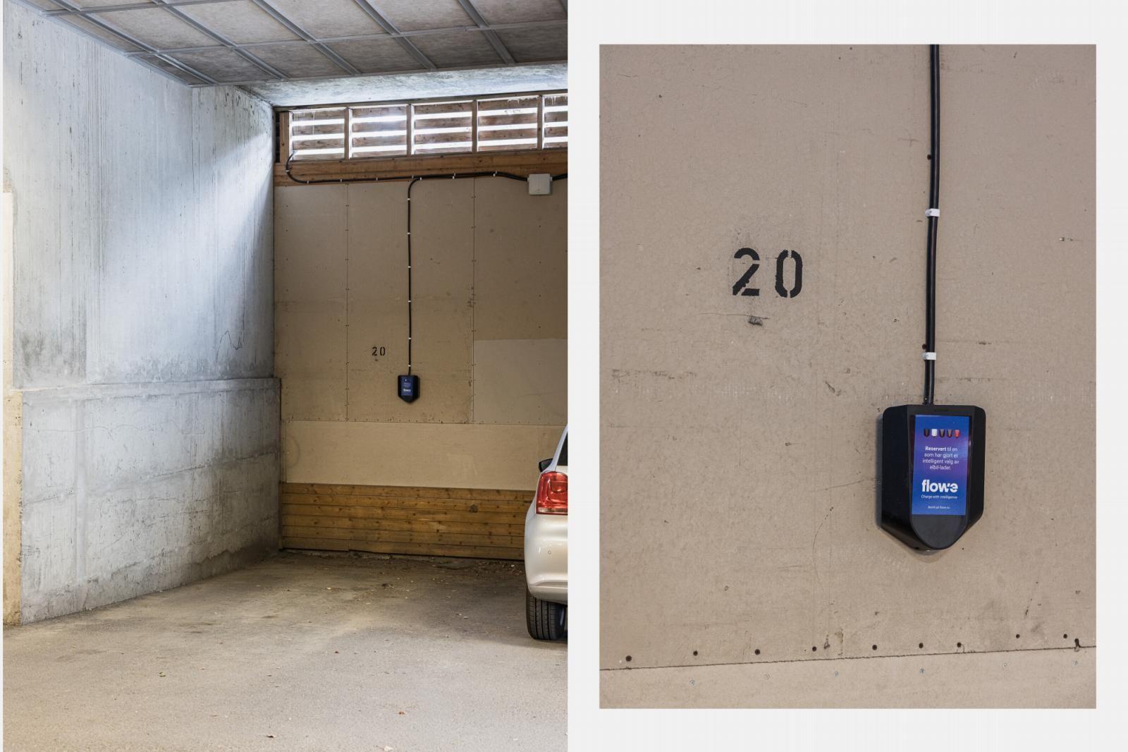 Morgedalsvegen 43 Garasjeplass med opplegg til ladestasjon