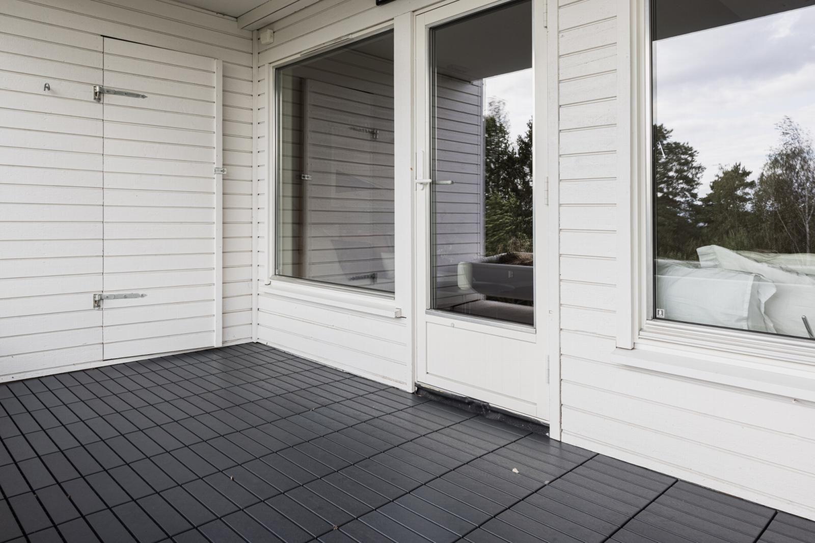 Morgedalsvegen 43 Praktisk terrassebod på 2 kvm