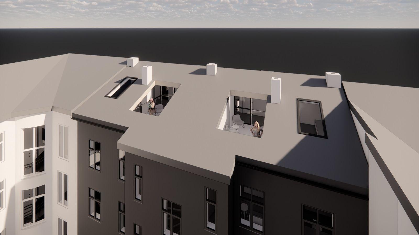 Bernt Ankers gate 31 Konseptbilde fra arkitekt (Snøhetta) - kun ment som illustrasjon