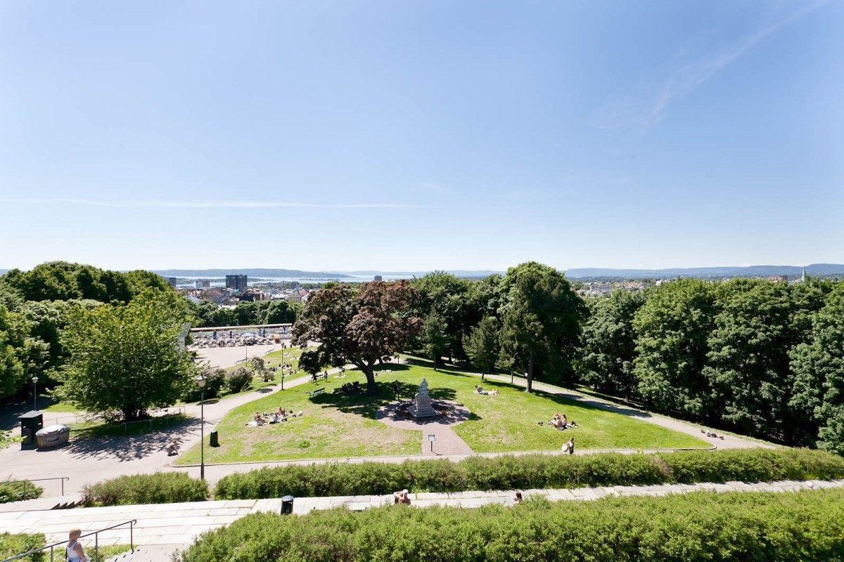 Pilestredet Park 12 A - Fantastisk utsikt fra parken på toppen av St.Hanshaugen -