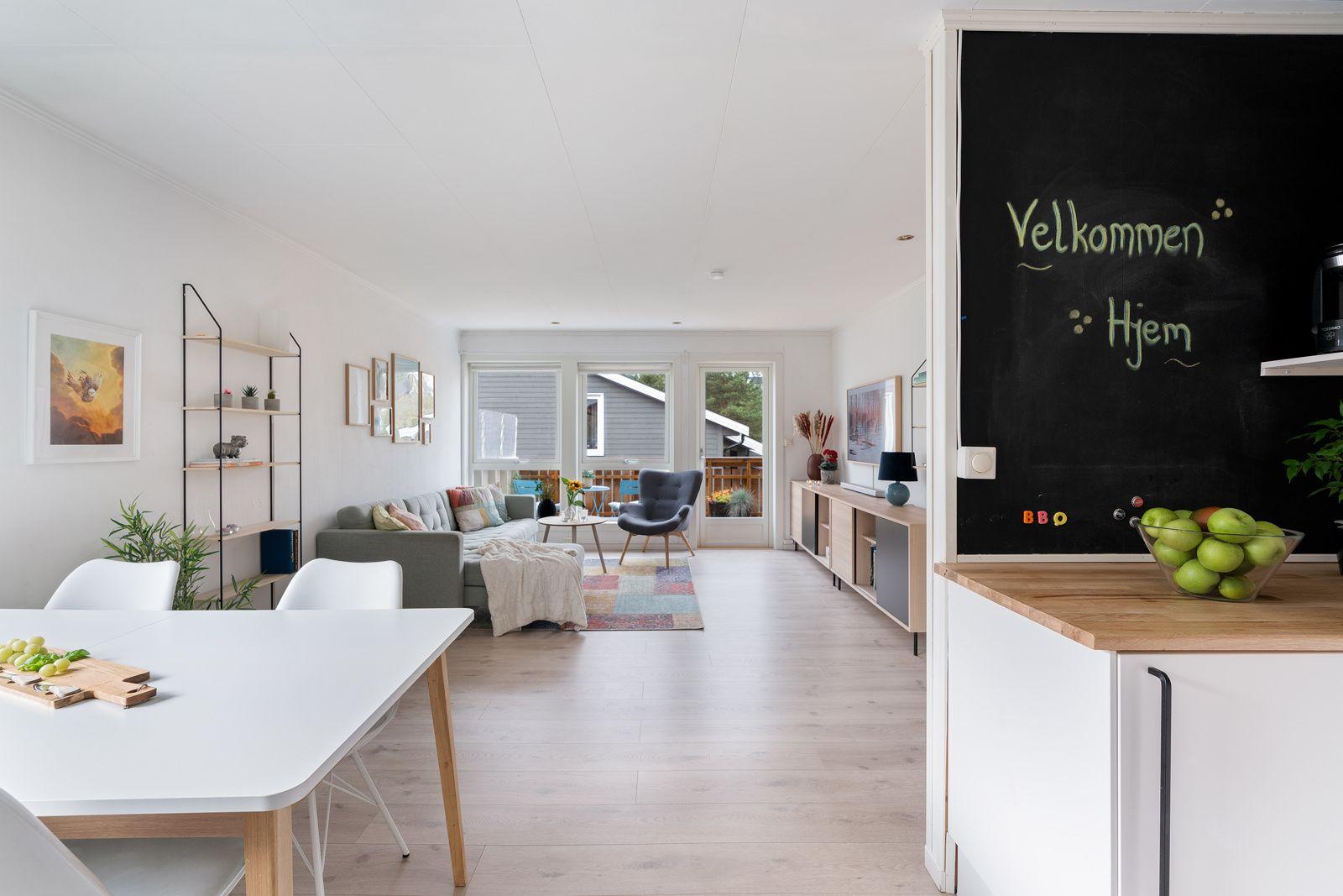Kreklingstien 5B Kjøkken mot stue